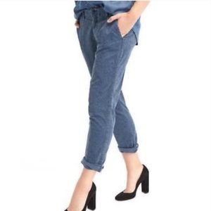 Pants - Gap Print Girlfriend Chinos | NWT